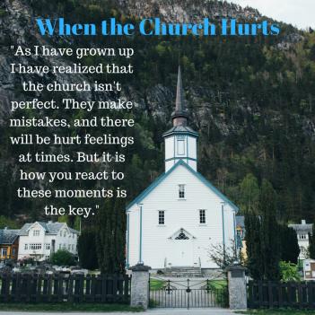 When the Church Hurtss