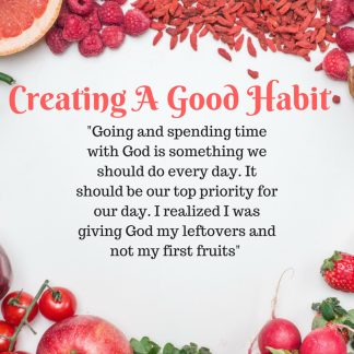 Creating Good Habits-2